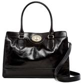 Cole Haan Vintage V Leather Satchel