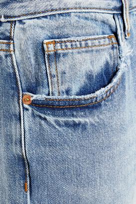 Current/Elliott The Original Ankle Distressed Boyfriend Jeans