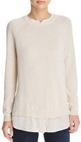 Joie Zaan D Layered-Look Sweater