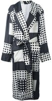 Dolce & Gabbana polka dot squares coat - men - Silk - 50