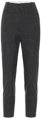 Etoile Isabel Marant Noah high-rise wool-blend pants