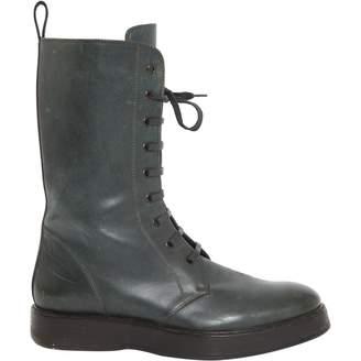 Bottega Veneta \N Green Leather Boots