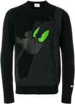 Iceberg Daffy Duck printed sweater