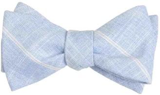 Tie Bar Sea Breeze Panes Navy Bow Tie