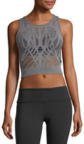 Alo Yoga Vixen Cutout Fitted Crop Tank