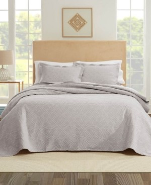 Nouvelle Home Bogart European Matalasse Coverlet Set King Bedding