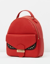 Love Moschino Front Buckle Backpack