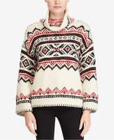 Polo Ralph Lauren Fair Isle Funnel-Neck Sweater