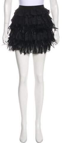 DKNY Lace Mini Skirt