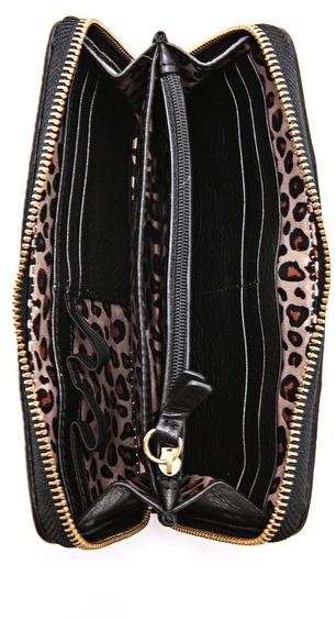 Juicy Couture Signature Zip Wallet