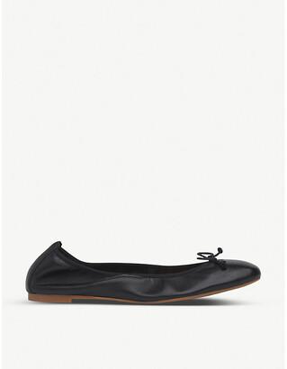 LK Bennett Trilly leather ballerina flats