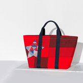 Tommy Hilfiger Cotton Patchwork Tote