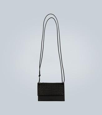 Bottega Veneta Leather travel pouches with strap