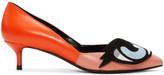 Pierre Hardy Orange Oh Roy Heels