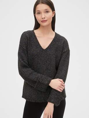 Gap Metallic V-Neck Sweater