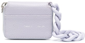 Kara Chunky Chain Leather Mini Bag