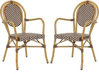 Safavieh Rosen French Bistro Stacking Arm Chair