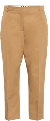 Marni Cotton and linen twill pants