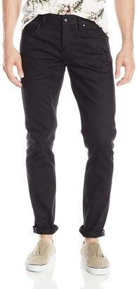 The Unbranded Brand Men's Ub455 Tight Black Selvedge Chino 36