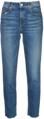 Trave Denim Mid Rise Slim Fit Jeans