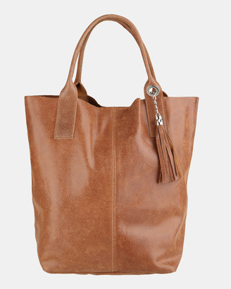 Lux Haide - Women's Leather bags - Marvel Oversized Hobo Bag - Size One Size at The Iconic