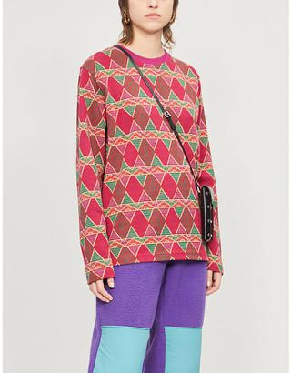 Stussy Cuzco graphic-print cotton-jersey top