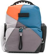 Kenzo colour block backpack