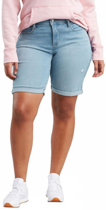 Levi's Curve Plus Shaping Bermuda Short Lt