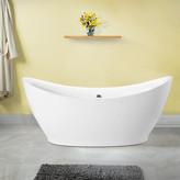 """Vinnova Divinity 67.5"""" x 31.5"""" Soaking Bathtub"""