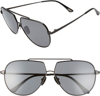 DIFF Denver 61mm Polarized Aviator Sunglasses
