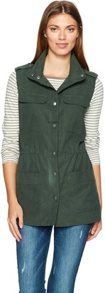 Cupcakes And Cashmere Women's Alvy Military Vest