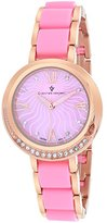 MOP Christian Van Sant Women's CV7613 Analog Display Quartz Two Tone Watch