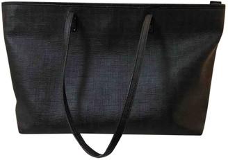 Fendi Roll Bag Black Leather Handbags