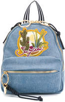See by Chloe desert patch backpack