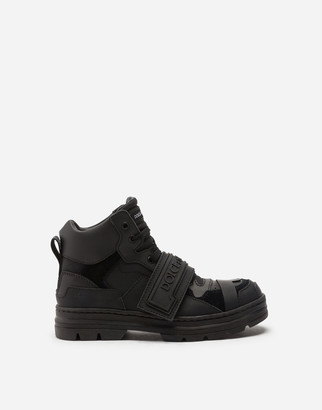 Dolce & Gabbana Mixed-Material Trekking Shoes