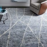 west elm Medina Rug - Regal Blue
