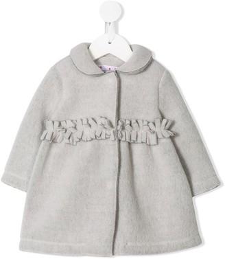 Il Gufo Fringed Detail Dress
