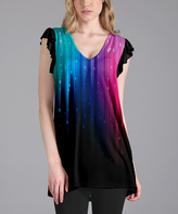 Lily Black Northern Lights Tunic - Plus Too