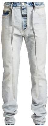 Fear Of God Inside-Out Light Wash Slim-Fit Jeans