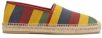 Gucci Baiadera-striped Canvas Espadrilles - Multi