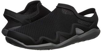 Crocs Swiftwater Mesh Wave (Black/Slate Grey) Men's Sandals