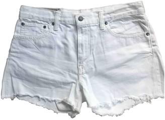 Polo Ralph Lauren White Denim - Jeans Shorts for Women