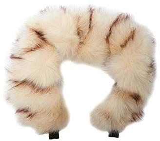 Beige For-Your-Little-One Fur Hood Trim Pram Compatible on Norton