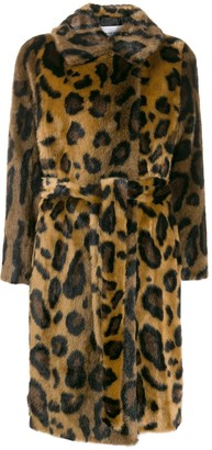 Stand Studio Leopard Print Coat