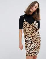Monki Leopard Print Cami Dress