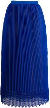 Marco De Vincenzo High-Waist Pleated Skirt