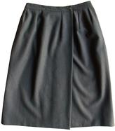 Christian Dior Black Wool Skirt