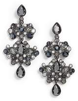 Givenchy Crystal Chandelier Drop Earrings