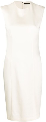 Haider Ackermann Midi Fitted Dress