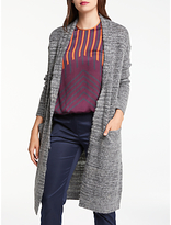 Max Studio Edge To Edge Long Cardigan, Grey